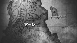 マーレとパラディ島の地図